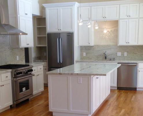 Oak Electric Home Remodel Kitchen Lighting