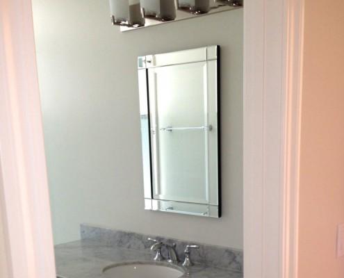 Oak Electric Home Remodel Bathroom