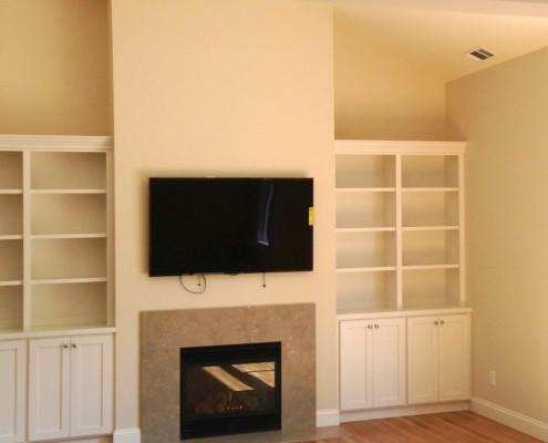 Oak Electric Home Remodel Living Room